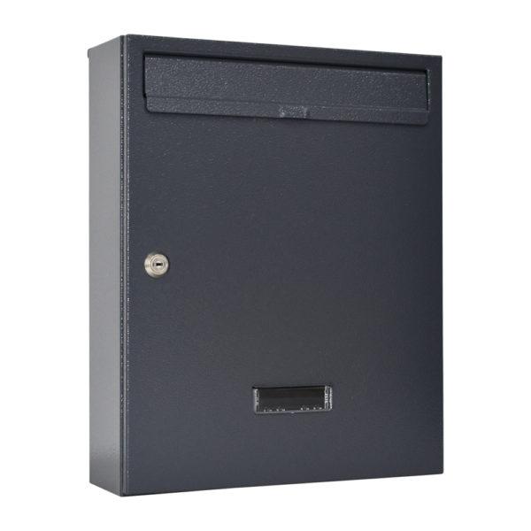 wall mounted post box