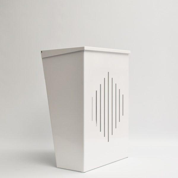 KBL Letter Cage - White - Front