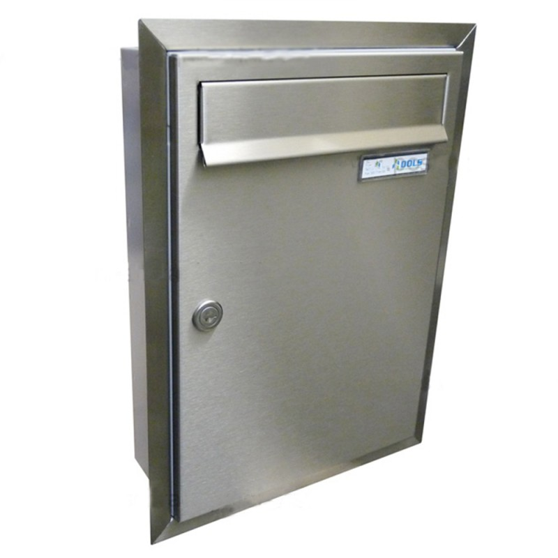Rear Access Letter Box.Lcd 01 Front Access Recessed Mounted Letterbox With Stainless Steel Trim