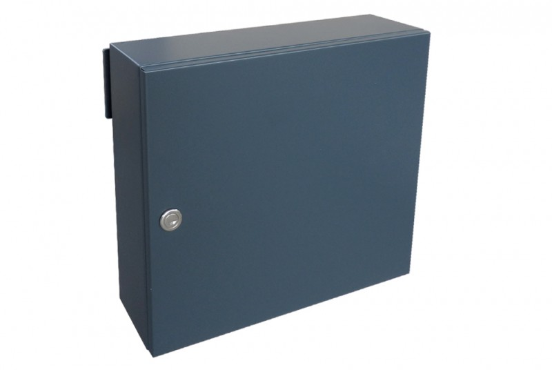 Gate Amp Fence Mounted Letterbox Lad 050 Stainless Steel