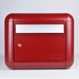 Red Neve Wall Mounted Post Box