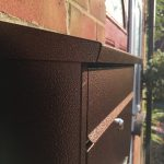 Wall Mounted Post Box Copper outside front door