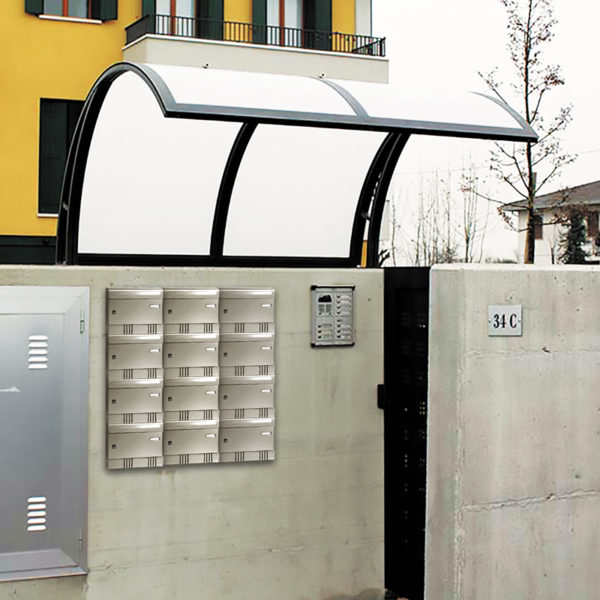 Communal post boxes Tocco Di Italia Sire wall mounted