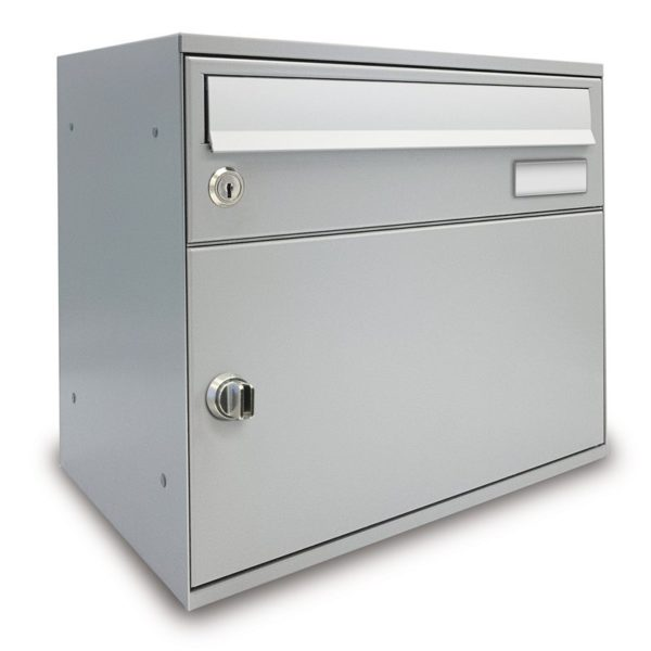 Front Access view wall mounted Easybox parcel box