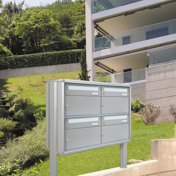 external letter and parcel box