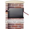 Stamford Through the Wall letterbox 3 brick diagram
