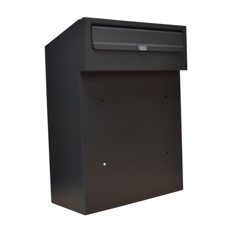 Rear Access Letter Box.Details About W3 Steel Rear Access Letterbox For Gates And Fences