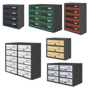 mulitple letterboxes communal letterboxes