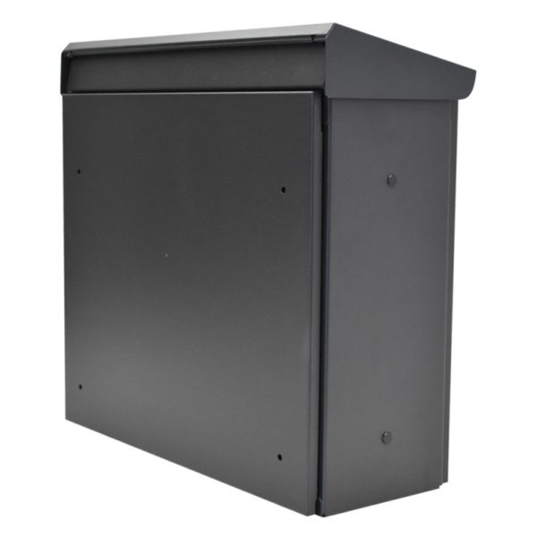 Marte Grey wall mounted letterbox