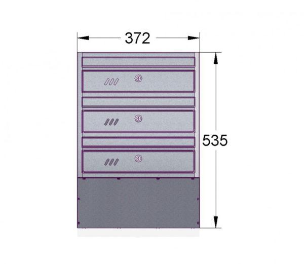 E1S_3 diagram letterboxes for flats