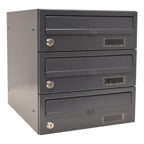 wall mounted letterboxes for flats