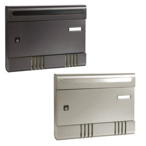sire wall mounted communal letterbox