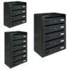 cubo dark grey multiple letterbox for flats