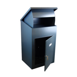 Wall mounted parcel box