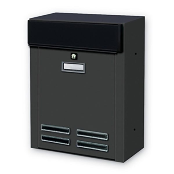 Front view of Magnum external wll mounted letterbox