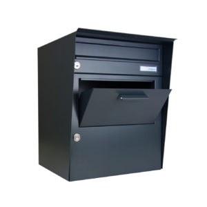 Parcel box Beta with integrated letterbox