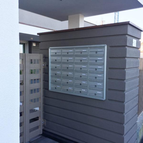Recess Mounted Post Boxes Modular 270