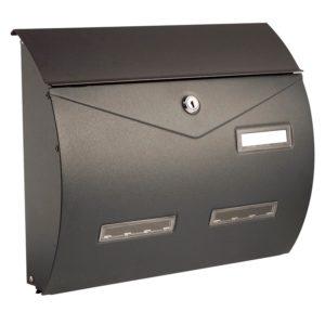 Image of dark grey Busta letterbox