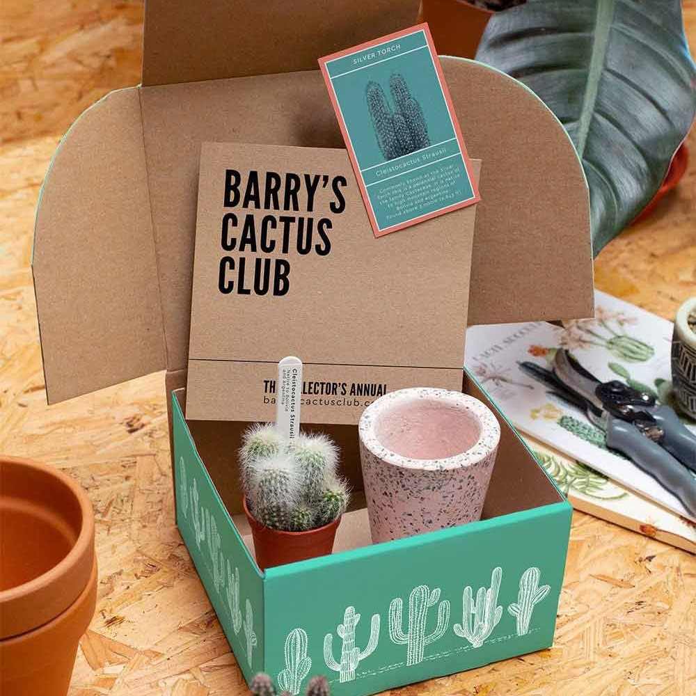 Barry's cactus Club contents of box