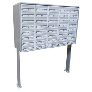 City Hall LBD-01 Free Standing Multiple Letterboxes large set