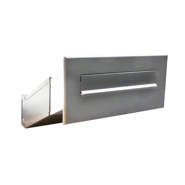 LDD-041 Stainless steel though the wall letterbox