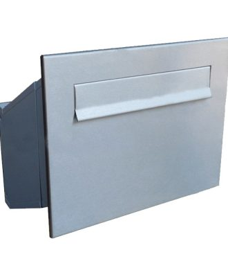 LDD-241 Telescopic High Capacity Through The Wall Stainless Steel Letterbox