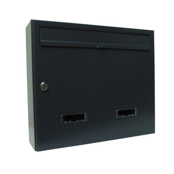 Wall mounted individual communal letterbox e4