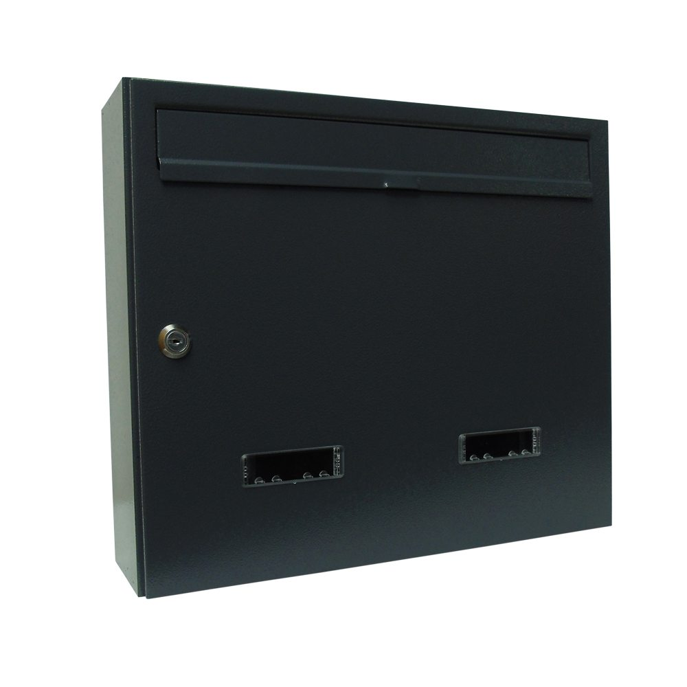 Wall mounted individual communal letterbox e4