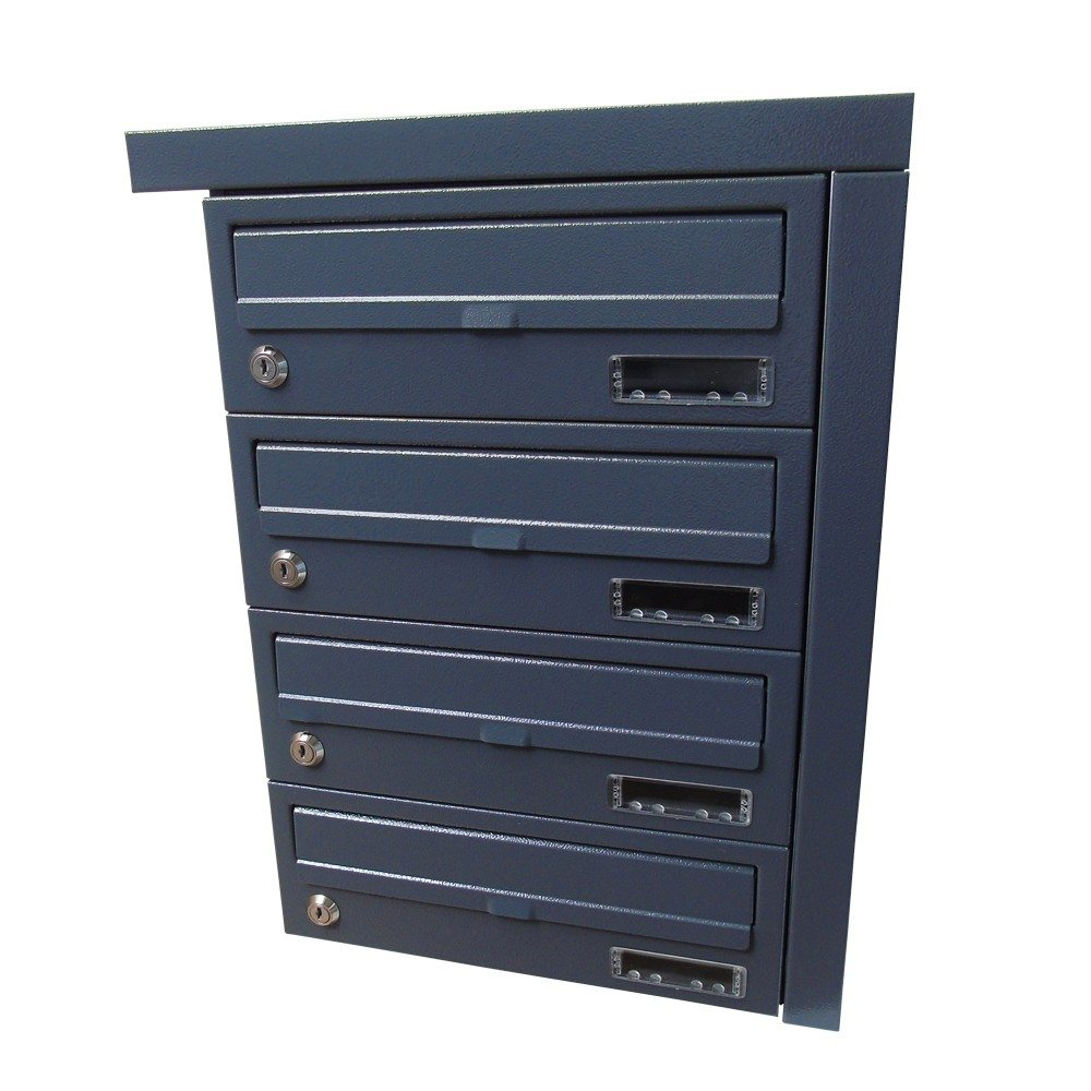 Letterbox Uk: Urban Easy E2 Communal Letter Boxes, Internal Recess