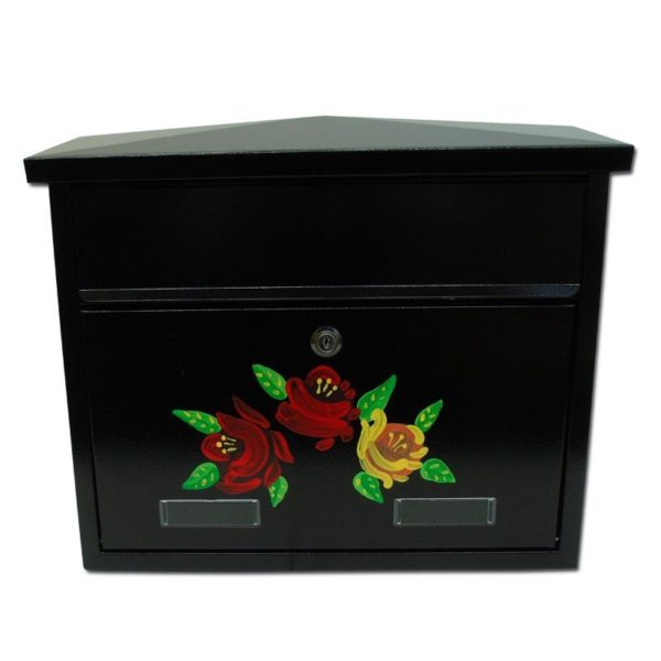Wall mounted post box external