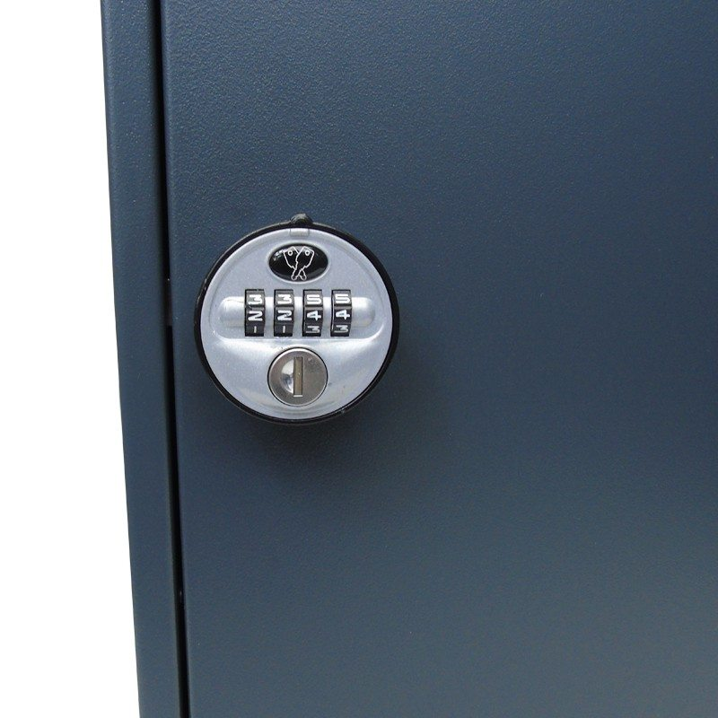 Secure High Capacity 100 Key Cabinet With Combination Lock