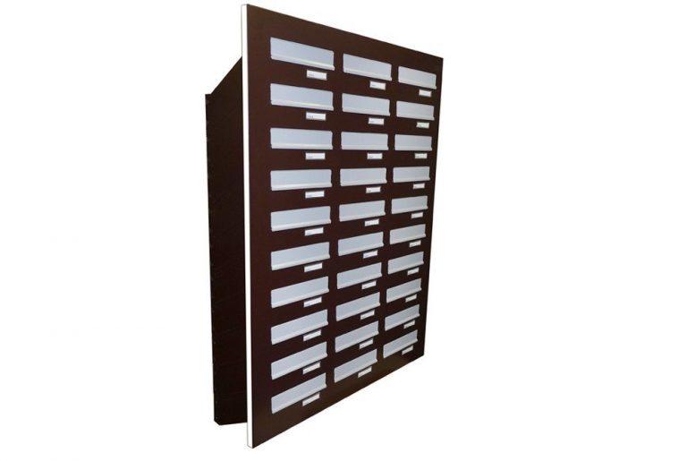 Door Panel Letterboxes City Hall LDD-046