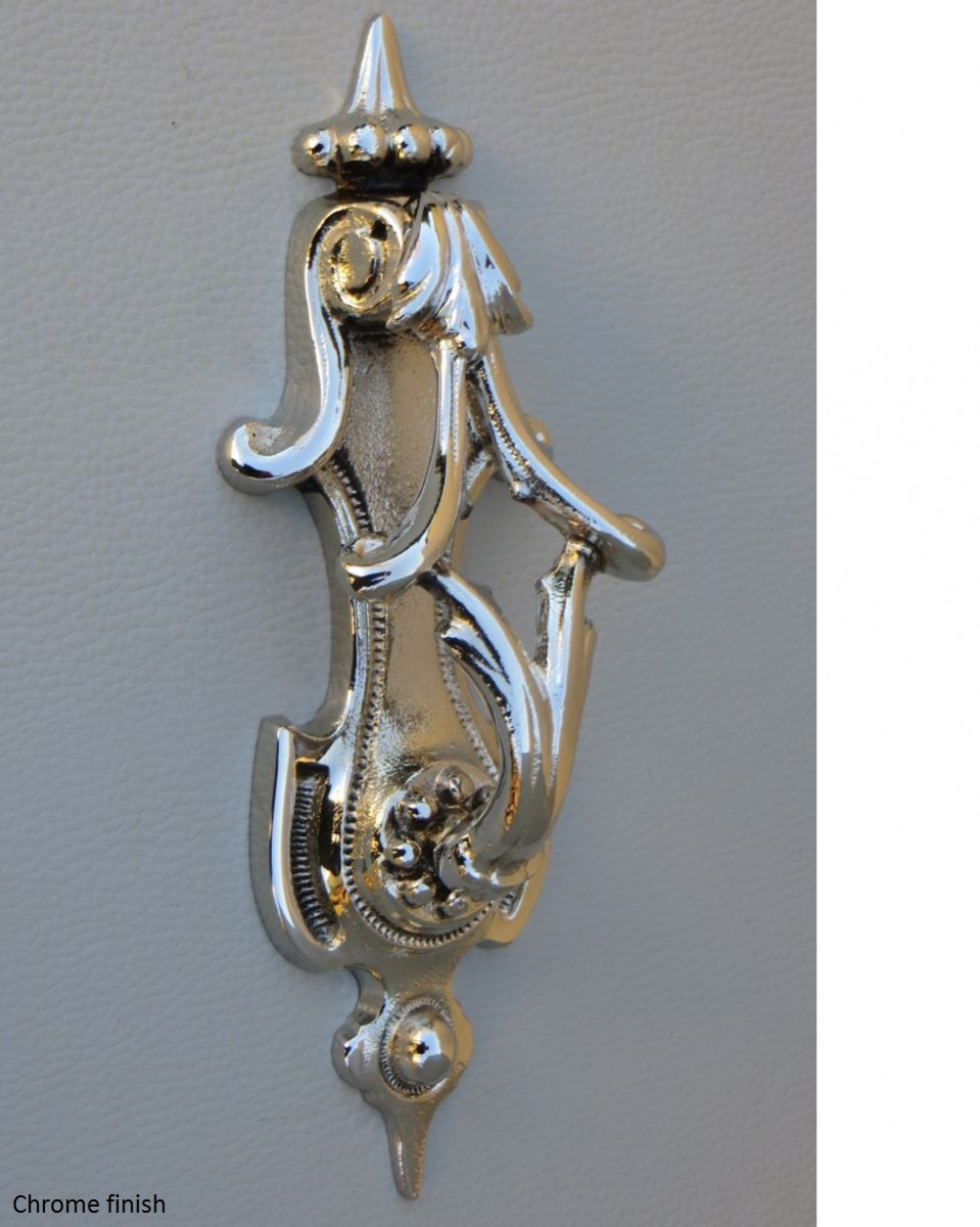 door-knocker-chrome-finish