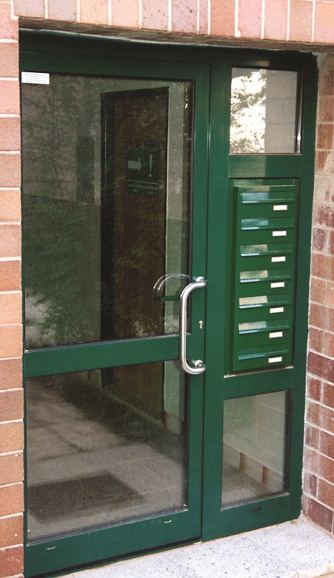 Urban Easy E6 Door Panel Mounted Multiple Letterboxes