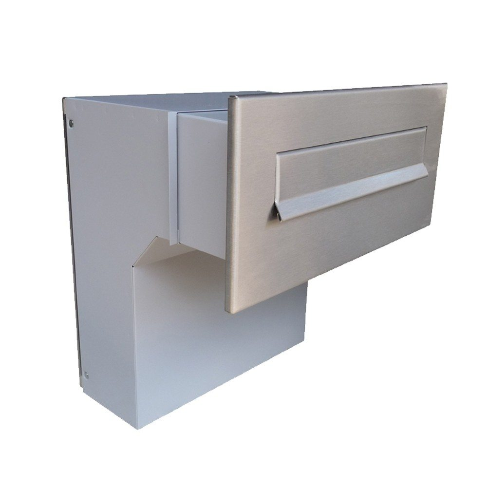 lfd-04 through the wall stainless steel letterbox