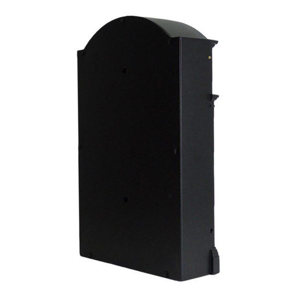 Heritage Die-Cast Aluminium Styled Letterbox Back