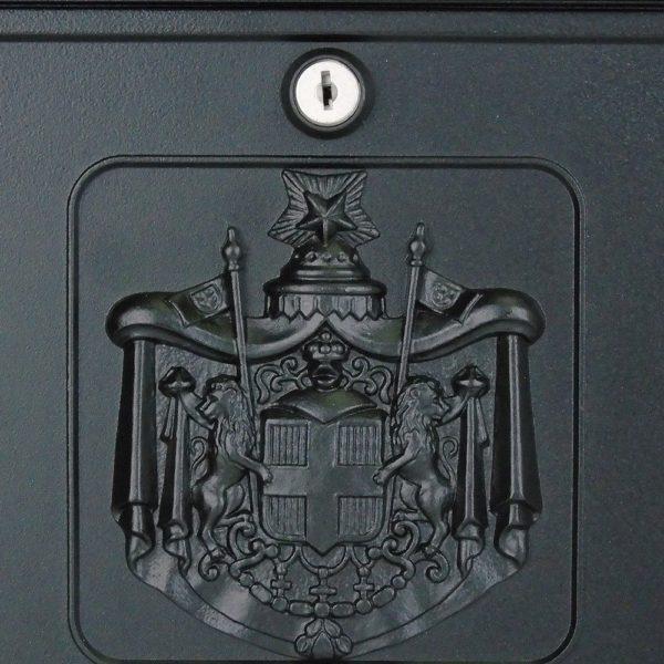 Heritage Die-Cast Aluminium Styled Letterbox Close