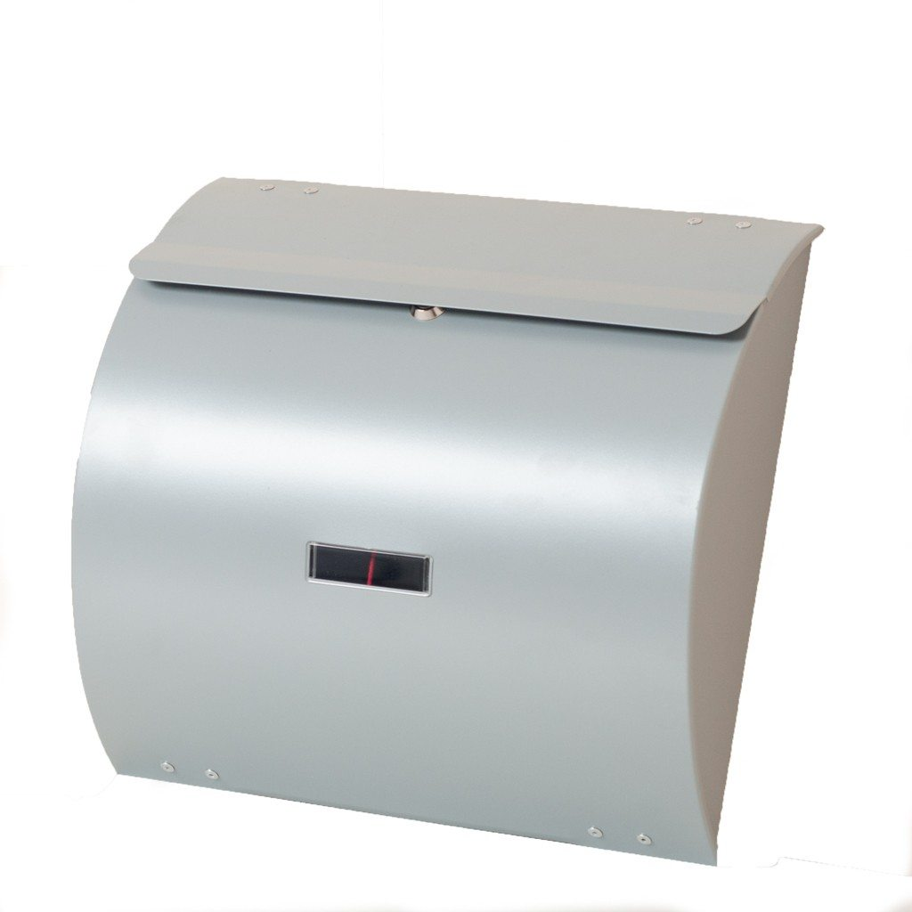Wall Mounted Post Box WA1 Contemporary Curved letterbox WA1