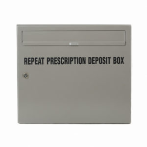 Wall Mounted Post Box Repeat Prescription Deposit Box