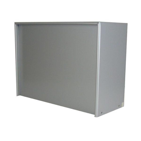 Moda Italiana Open Air Aluminium High Capacity Back Post Box
