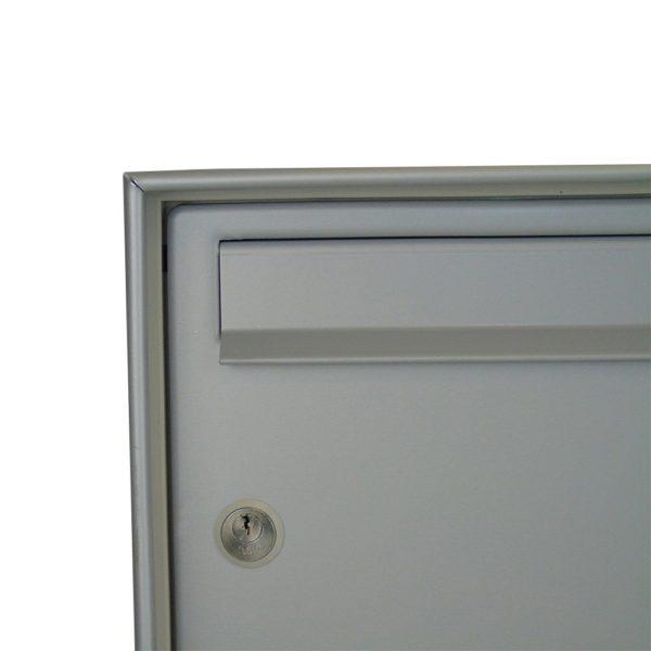 Moda Italiana Open Air Aluminium High Capacity Close Post Box