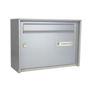 Moda Italiana Open Air Aluminium High Capacity Front Post Box