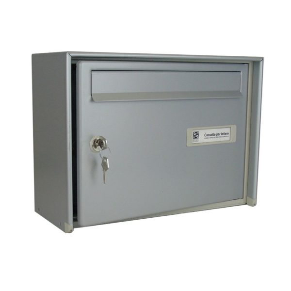 Moda Italiana Open Air Aluminium High Capacity Open Post Box