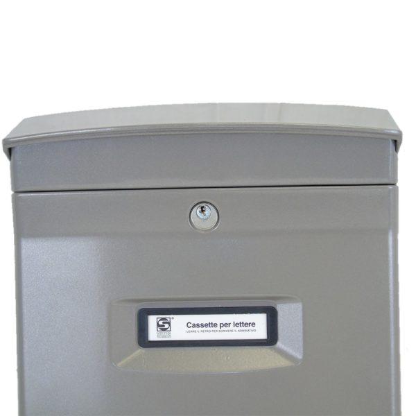 Moda Italiana Gioiosa Aluminium Close Outdoor Letterbox