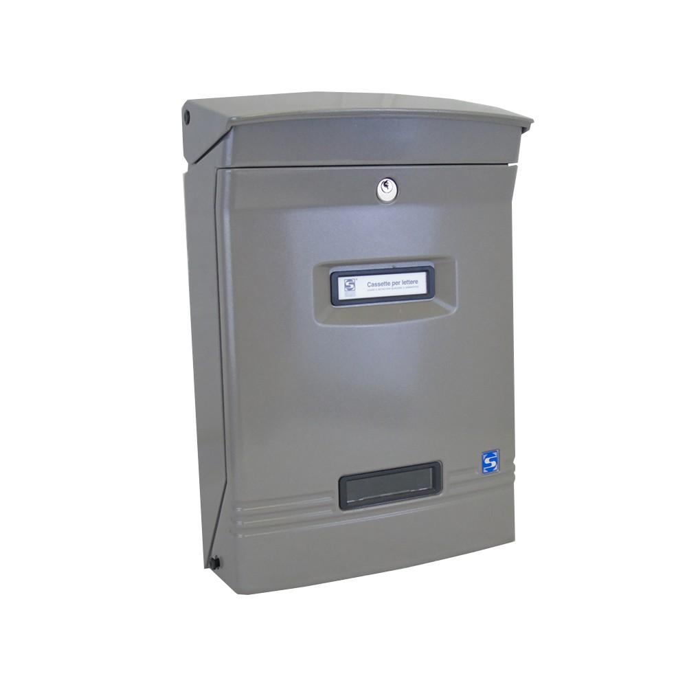 Moda Italiana Gioiosa Aluminium Front Outdoor Letterbox