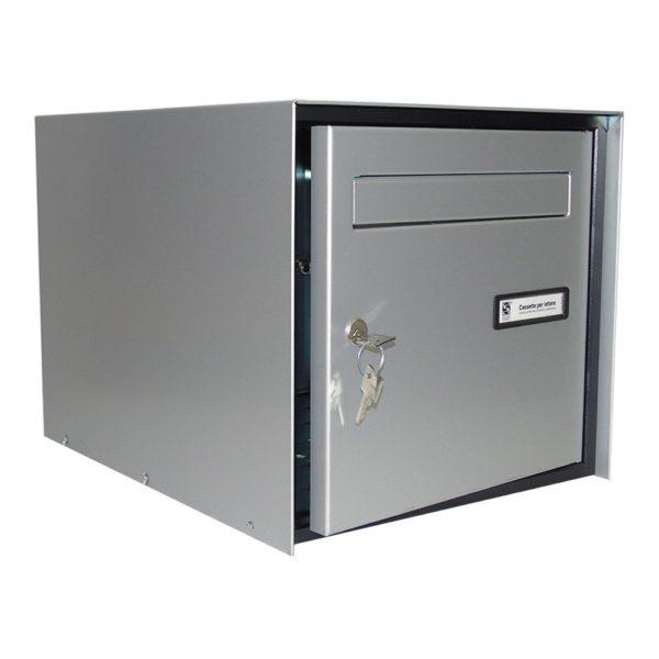 Moda Italiana S10 High Capacity Front Access Letterbox Open