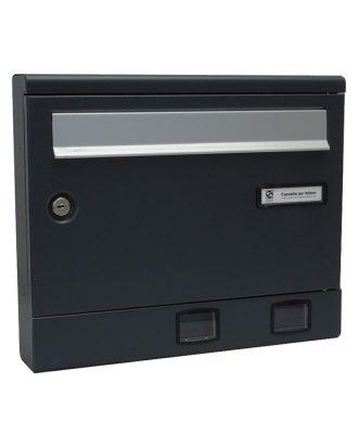 Moda Italiana S2001ER- Powder Coated Letterbox Front