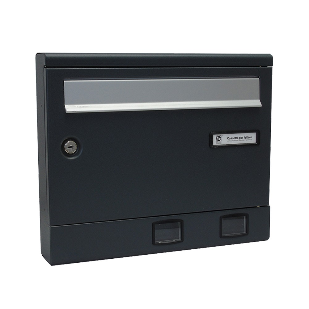 Moda Italiana S2001ER- Powder Coated Letterbox Front