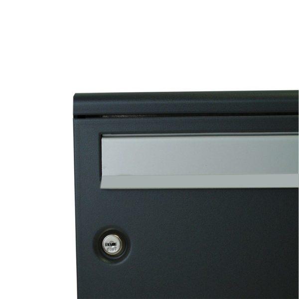 Moda Italiana S2001ER- Powder Coated Letterbox Close