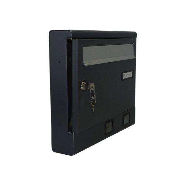 Moda Italiana S2001ER- Powder Coated Letterbox Open